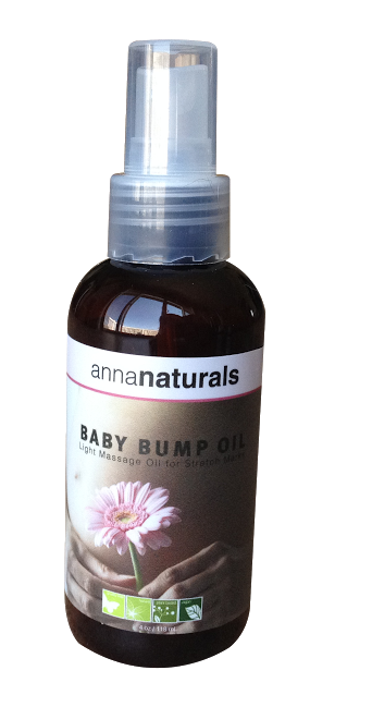 Anna Naturals Baby Bump Oil for Stretch Marks