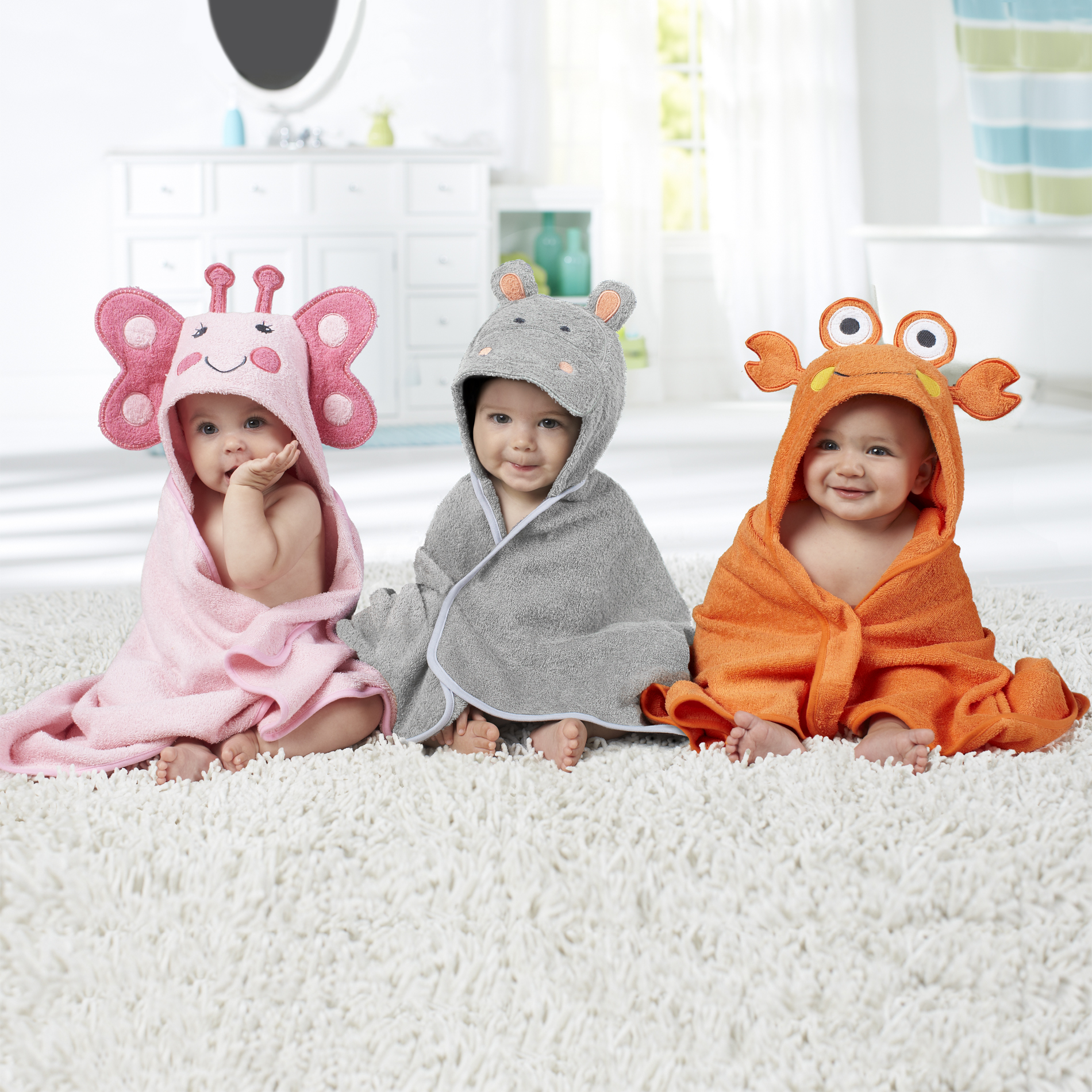 Just Born® Hooded Towel