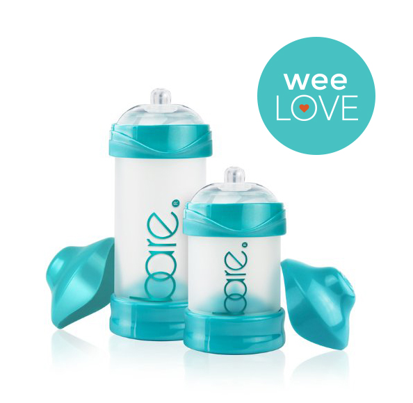 Bittylab Bare Air-Free Baby Bottles