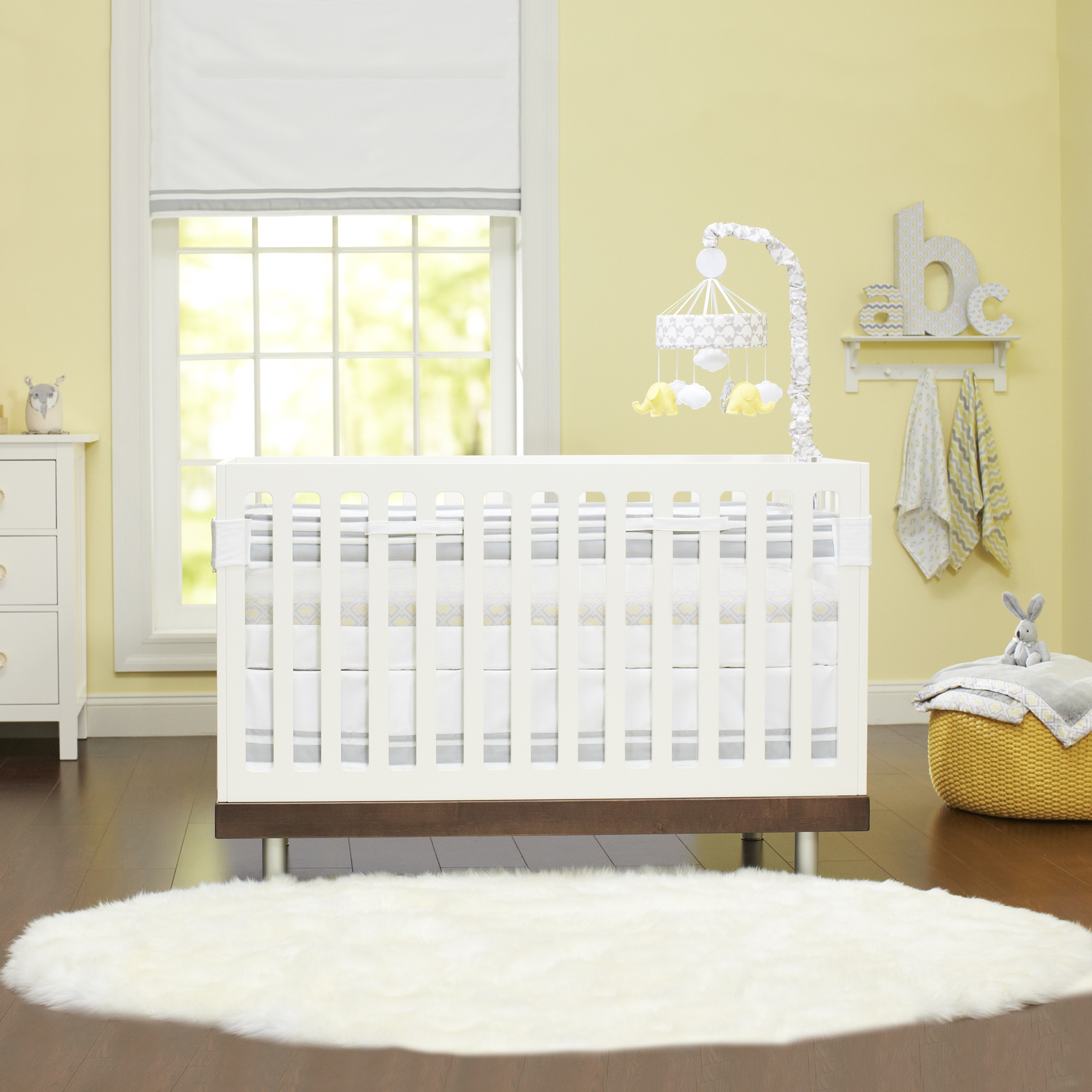 Fresh Air Crib Liner by Just Born