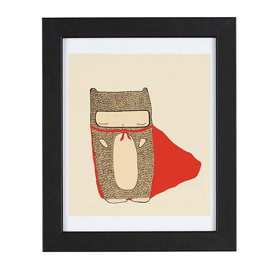 Land of Nod Even Superheros Need a Break Wall Art