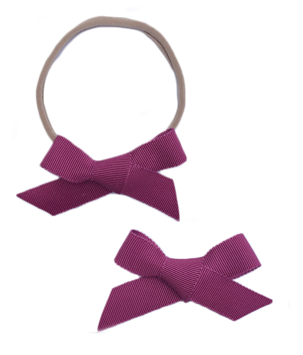 Hadley Girl Hand-Tied Hair Bows