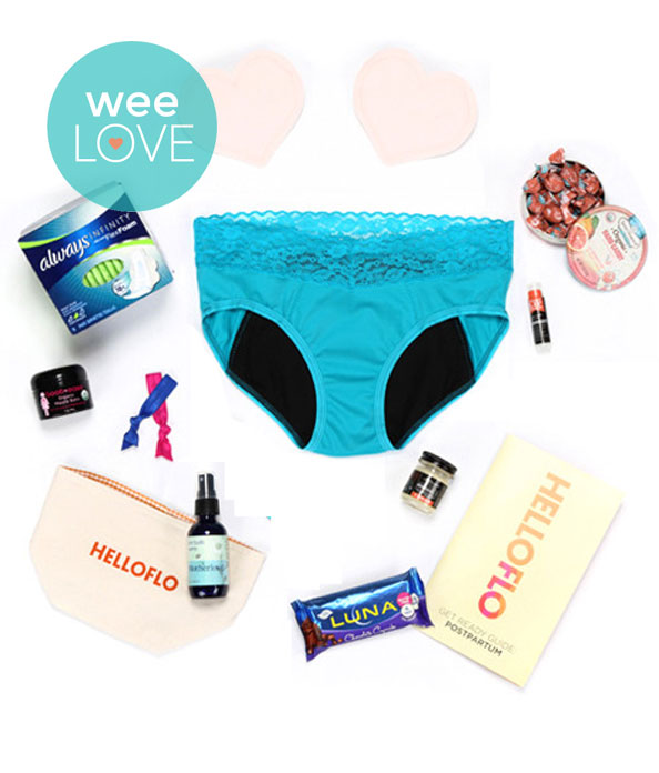 HelloFlo New Mom Kit