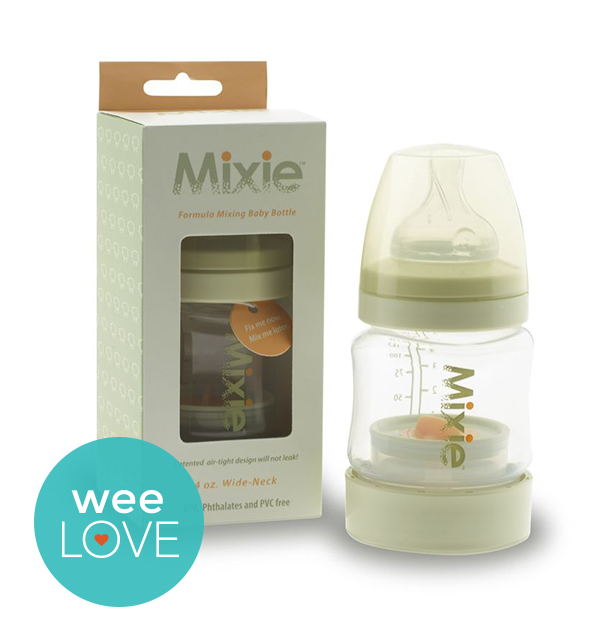 Mixie Formula-Mixing Baby Bottle