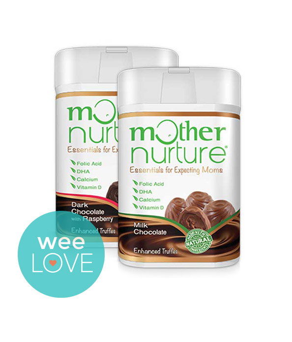 Mother Nurture Prenatal All Natural Milk Chocolate Truffles