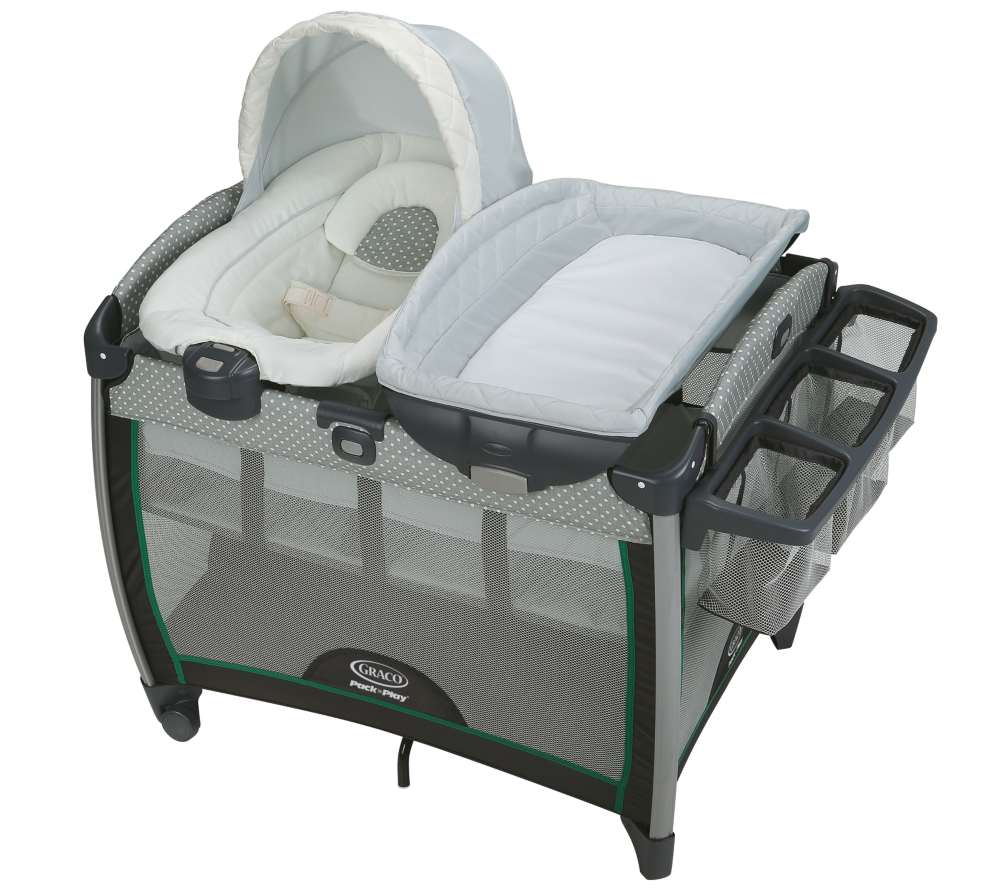 Graco Pack 'n Play Playard With Quick Connect Portable Bouncer