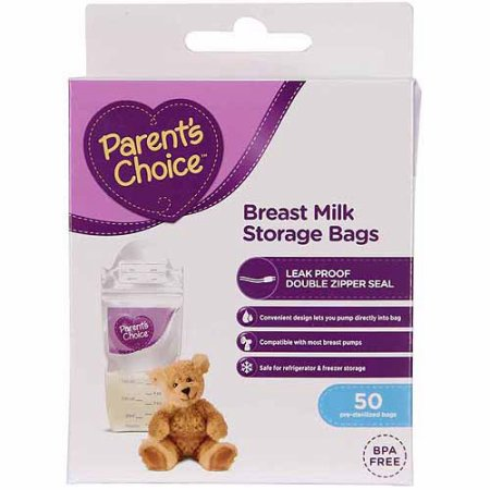 Parents' Choice Breast Milk Storage Bags