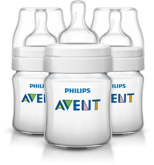 Philips Avent 4 oz. Anti-Colic Baby Bottle