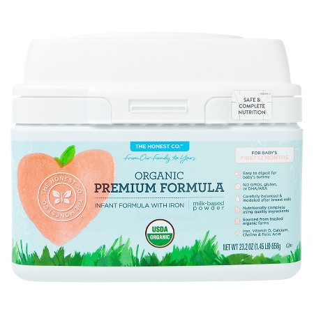 The Honest Company Premium Organic Formula