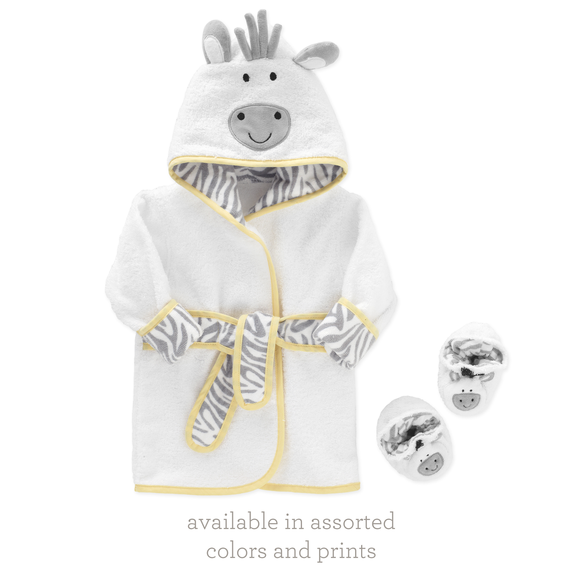 Just Born® Robe and Booties