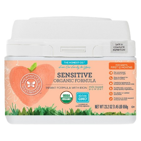 The Honest Company Sensitive Organic Formula