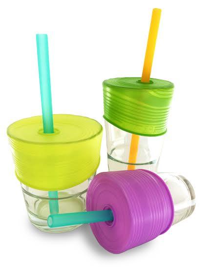 Siliskin Straw Cup Set