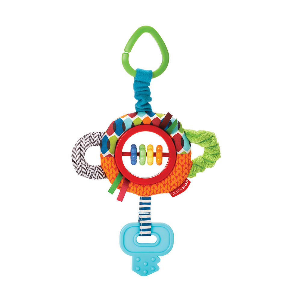 Skip Hop Rattle & Play- Tug and Clatter Key