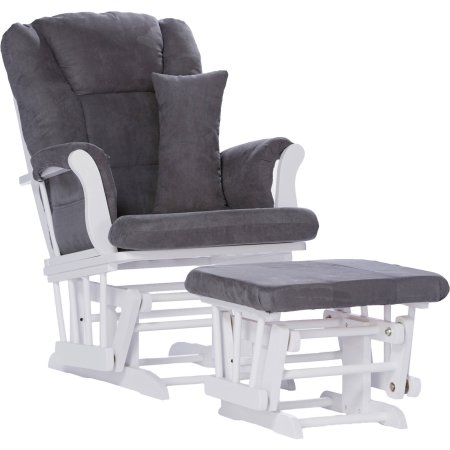 Storkcraft Custom Tuscany Glider and Ottoman