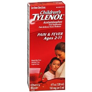 Tylenol Children's Pain Reliever/fever Reducer Oral Suspension Liquid