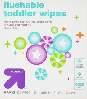 Up & Up Toddler Wipes