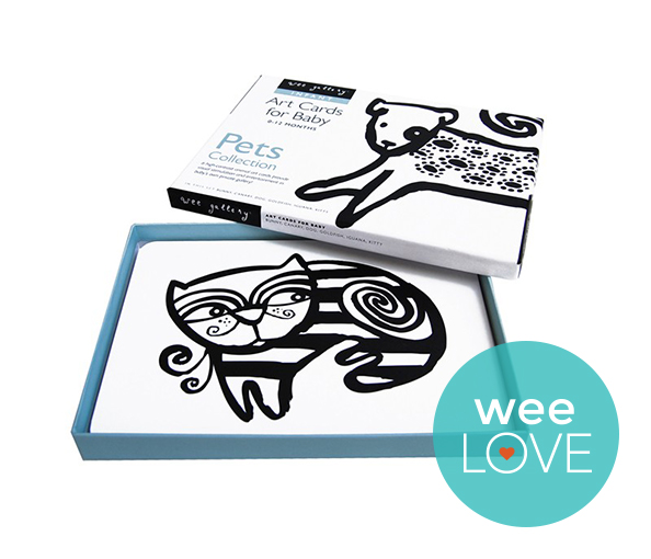 Wee Gallery Art Flash Cards for Baby