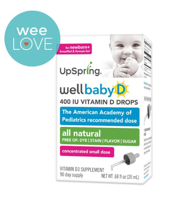 UpSpring Wellbaby D, Vitamin D3 Drops