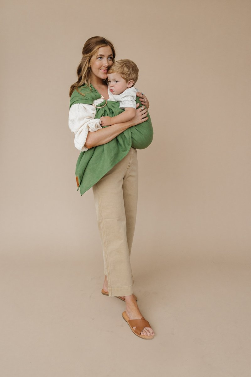 Wildbird Solid Linen Ring Sling