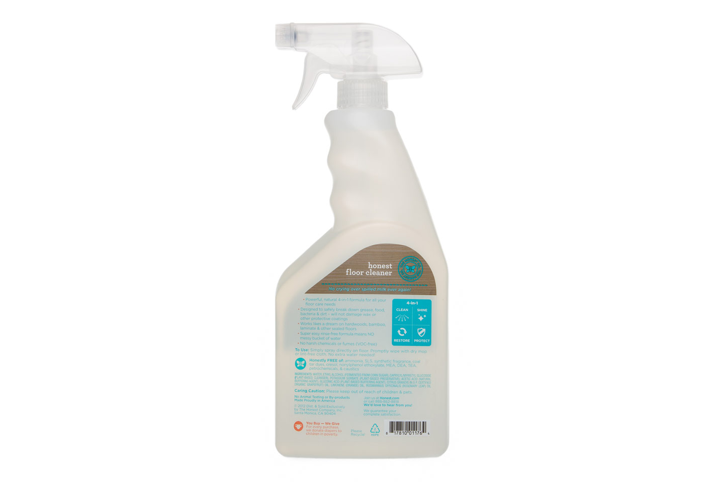 The Honest Company Floor Cleaner