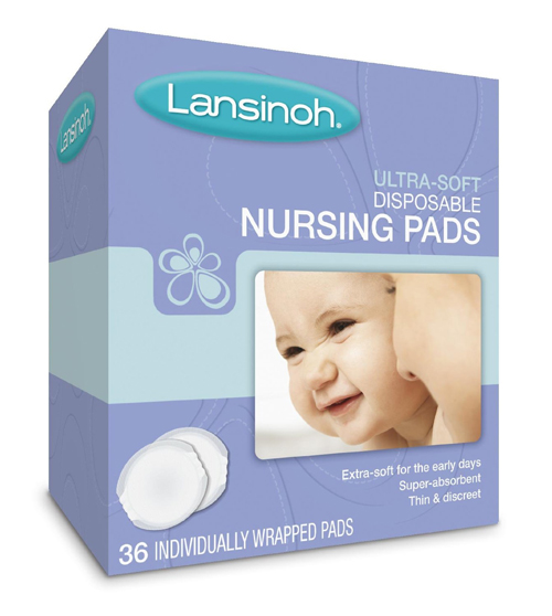 Similar product: Lansinoh Ultra Soft Disposable Nursing Pads